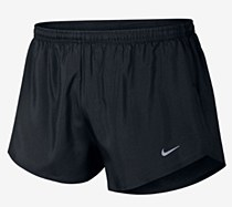 "Nike 2"" Race Day Short Black/ Silver"