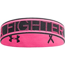 Under Armour 2in1 Headband Pink Black