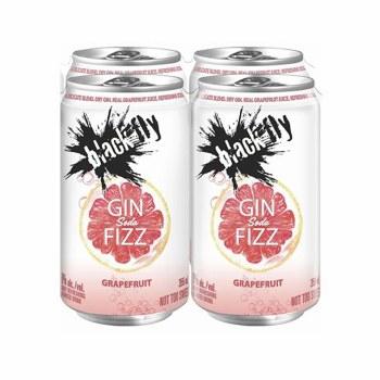 4C Blackk Fly Grapefruit Gin Fizz