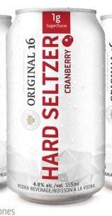 6C Original 16 Cranberry Seltzer