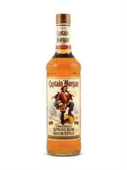 Captain Morgan Spiced Rum (Glass)  -750ml
