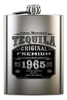 Casa Maestri Tequila Flask -200ml
