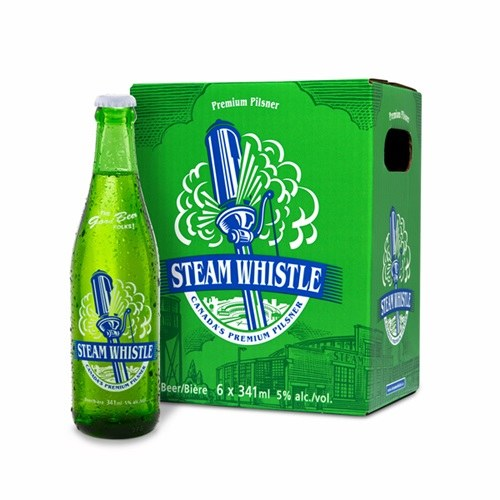 6b Steam Whistle Pilsner - Rayzr's Cellar