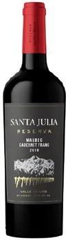 Santa Julia Reserva Malbec Cabernet Franc -750ml