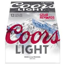 12b Coors Light