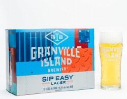 12C Granville Island Sip Easy Lager