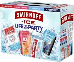 12c Smirnoff Ice Party Pack