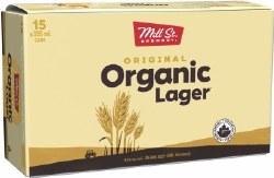 15C Mill St. Original Organic Lager