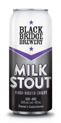1c Black Bridge Milk Stout