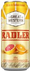 1c Great Western Radler- 473ml