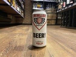 1C Rebellion Beer -473ml