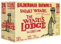 24c Sneaky Weasel Craft Lager