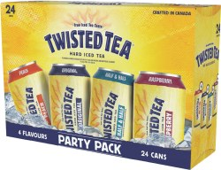 24C Twisted Tea Party Pack