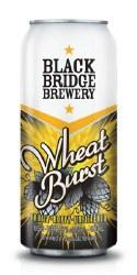 1c Black Bridge Wheat Burst