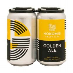 4c Nokomis Golden Ale