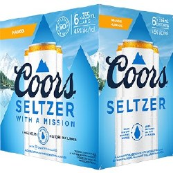 6C Coors Seltzer Mango