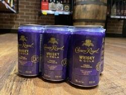 6C Crown Royal Whiskey & Cola
