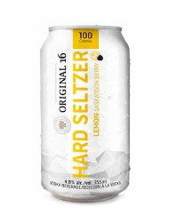 6C Original 16 Hard Seltzer Lemon Saskatoon