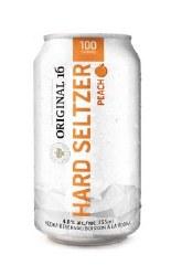 6C Original 16 Peach Seltzer