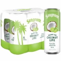 6C Seagram Coconut Lime