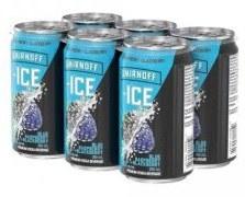 6C Smirnoff Ice Blue Raspberry & Blackberry