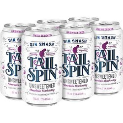6c Tail Spin Gin Blackberry