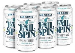 6c Tail Spin Gin Sonic Unsweet