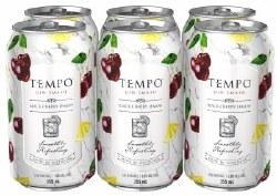 6C Tempo Gin Smash Blackcherry