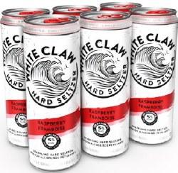6C White Claw Raspberry