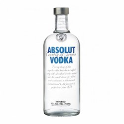 Absolut Blue Vodka -  750ml