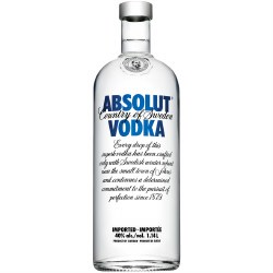 Absolut Blue Vodka -  1140ml