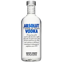 Absolut Blue Vodka- 375ml