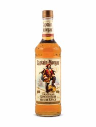 Captain Morgan Spiced Rum (Glass)  -750ml