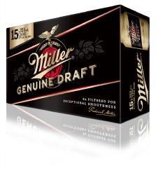 15c Miller Genuine Draft