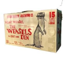 15c Sneaky Weasel Lager