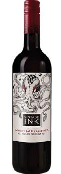 Vintage Ink Rebel Whiskey Barrel Red Wine -750ml