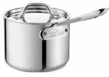 STAINLESS 2 QUART SAUCEPAN WITH LID