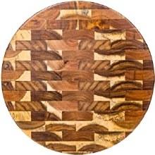 ACACIA ROUND WOOD BOARD