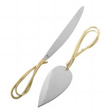 CALLALILY CAKE KNIFE AND SERVER SET