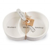 CONDIMENT SERVE SET