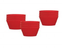SILICONE MUFFIN CUPS SET OF 12