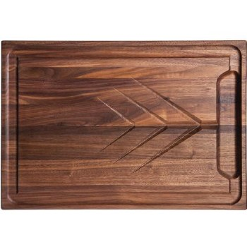 WALNUT CARVING BOARD 20X14