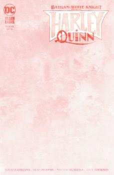 Batman White Knight Presents Harley Quinn #1 (Of 8) Blank Va