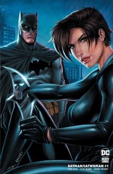 Batman Catwoman #1 Ryan Kincaid Minimal Trade Dress Variant