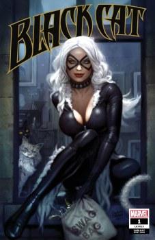 Black Cat #1 Ryan Brown CoverA Variant