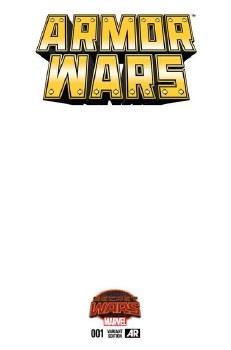 Armor Wars #1 Blank Var Swa