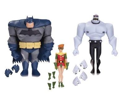 Batman Animated Batman Robin Mutant 3 Pack