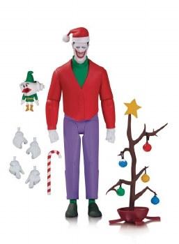 Batman Animated Ser Christmas W The Joker Af