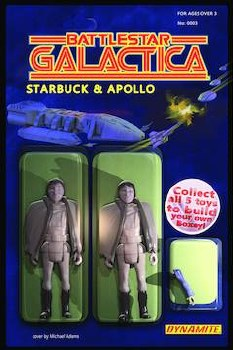 Battlestar Galactica Vol 3 #3 (Of 5) Cvr B Adams Action Figu