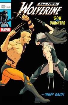 All New Wolverine #25 Anka Lh Var Leg